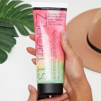 Try St Tropez's Watermelon Infusion Moisturiser for free