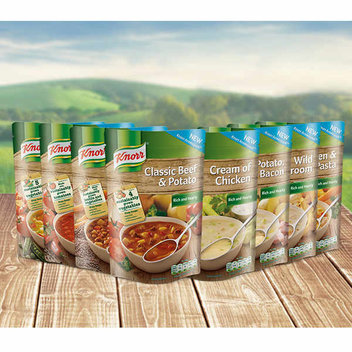 Enjoy a 50p off voucher Knorr Naturally Tasty Coupon