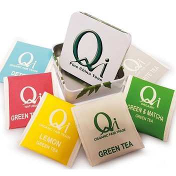 Take home a free tea hamper from Qi