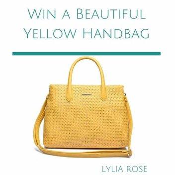 Win a Beautiful Yellow Handbag