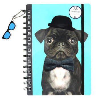 Get a free pug notebook