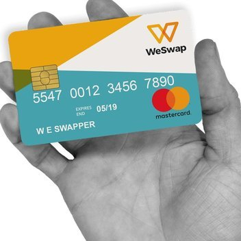 FREE WeSwap Travel Card