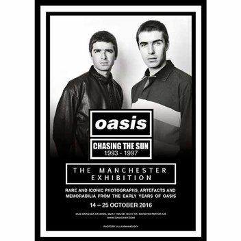 Free Chasing The Sun: Oasis 1993-1997 Manchester Exhibition