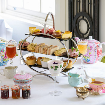 Enjoy a gin and jam afternoon tea for 2