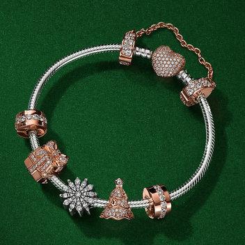 PANDORA Rose Bangle and Charms Giveaway