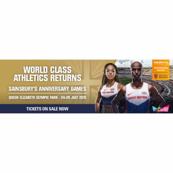 Win tickets to Sainsburys Anniversary Games tickets