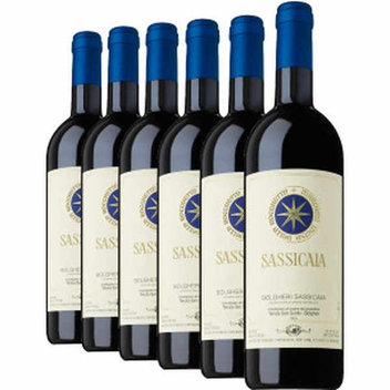 Win six bottles of the legendary Super-Tuscan, Sassicaia 2010 worth £600