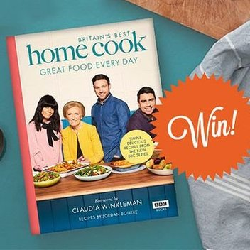 10 free copies of Britain's Best Home Cook to be claimed