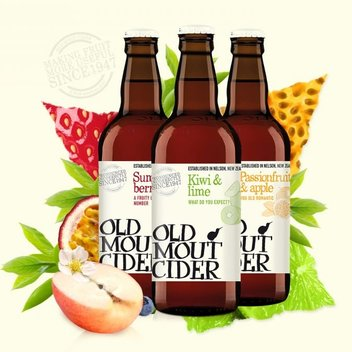 Enjoy a free bottle of Old Mout Cider