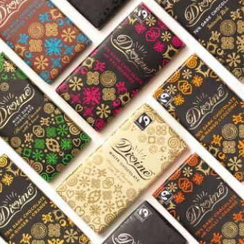 Celebrate Divine Chocolate's 20'th anniversary with free chocolate