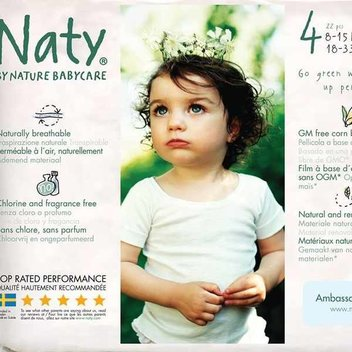 Free Samples of Naty Eco Diapers as a Naty Ambassador