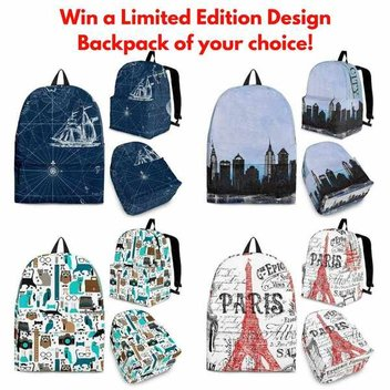 Win a limited edition backpack from Shopeholic