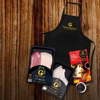 Gorge on a free Gressingham Duck Hamper