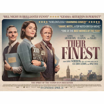 Win tickets to a preview screening of Their Finest, including a Q&A with Gemma Arterton