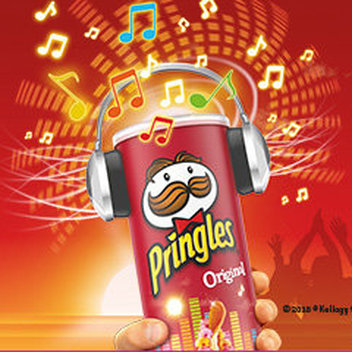 Score free SONY headphones with Pringles