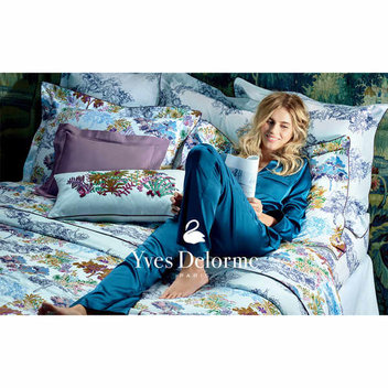 Win an Yves Delorme Paysage bed set worth £555