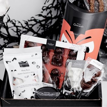 Indulge in a free Hotel Chocolat Halloween hamper