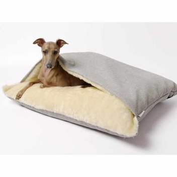 Free Spirit Boutique's Charley Chau Snuggle Bed in Weave Linen