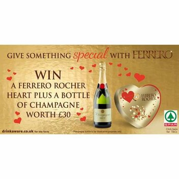 Win Ferrero Rocher chocolates & a bottle of Champagne
