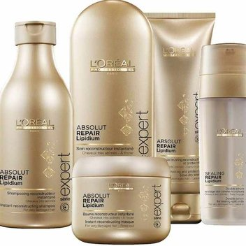 Free samples of L'Oréal Pro Hair Products