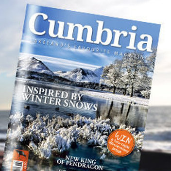 Claim a free copy of Cumbria Magazine