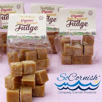 Score free salted caramel fudge