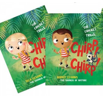 Take home a free personalised kid's storybook