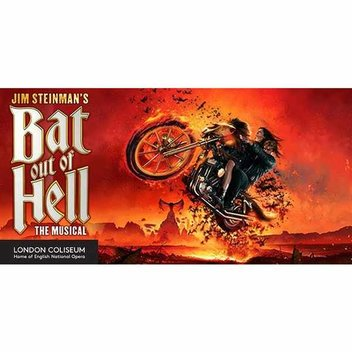 20 free VIP tickets to BAT OUT OF HELL THE MUSICAL
