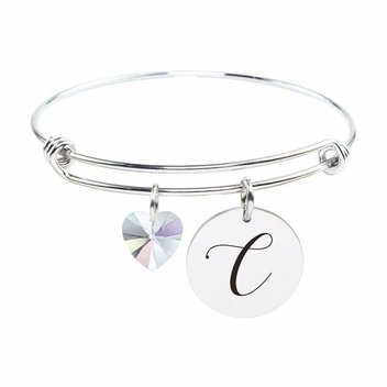 Secure a free Personalised Initial Bangle