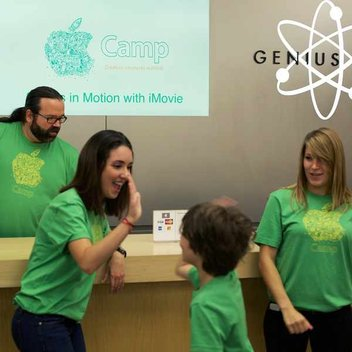 Free Apple Summer Camp courses & free shirts