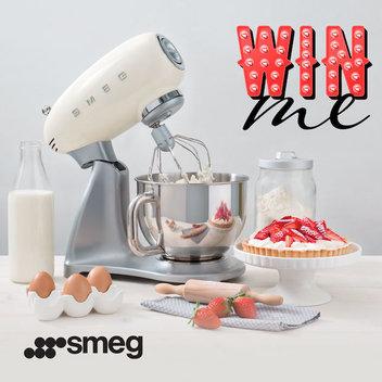 Win a 50's Retro Style stand mixer