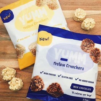 Get a month's supply of Yumm Protein Crunchers