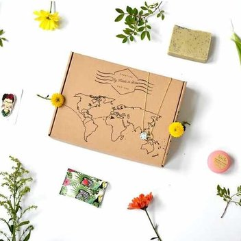 Get a free box of ethical goodies by My Made In Box