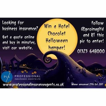 Have a free Hotel Chocolat Halloween hamper