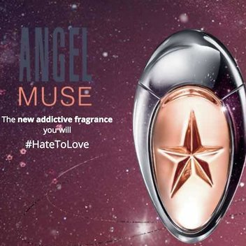 Claim your FREE Mugler Angel Muse Perfume