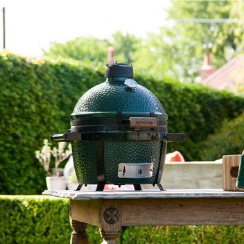 Win a Big Green Egg Minimax Barbecue worth £625