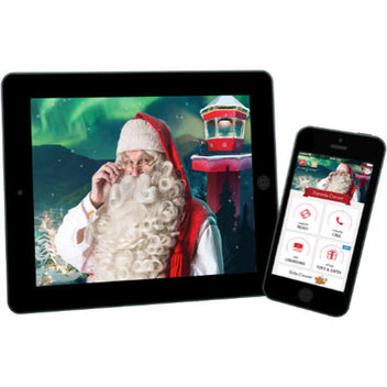 Send out free personalised Santa videos