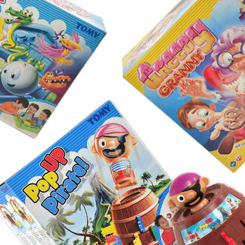 3 top TOMY games up for grabs