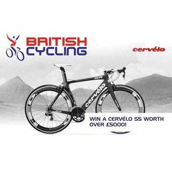 Win a Cervelo S5 with Shimano Dura Ace 9000 worth £5000