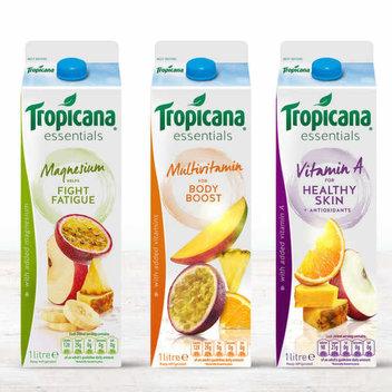 Free carton of Tropicana Essentials