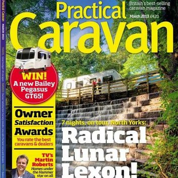 Free issue of Practical Caravan magazine