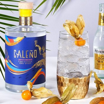 Grab a free bottle of Caleño's new Juniper & Inca Berry-infused free spirit