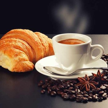 Claim a free coffee & croissant at PAUL