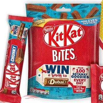 Grab a free Kit Kat Getaway Goody