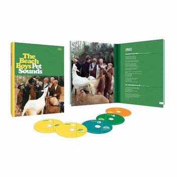 Win a signed copy of the new Beach Boys - Pet Sounds 50th anniversary edition