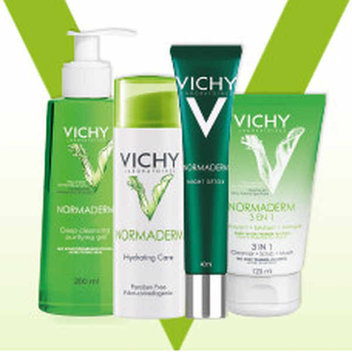 20,000 free Vichy Normaderm samples