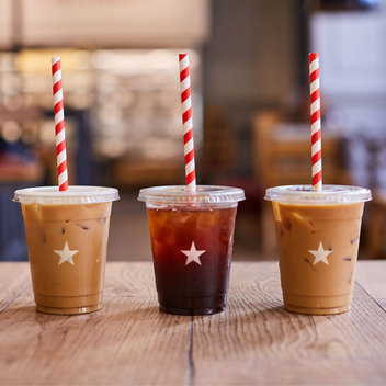Enjoy a free iced coffee from Pret