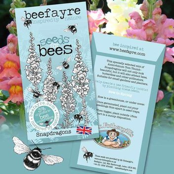 Claim a free pack of bee-friendly seeds
