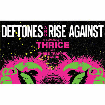 Win a Samsung Galaxy S8, a trip to Vegas to see Rise Against, Deftones and Thrice with Three