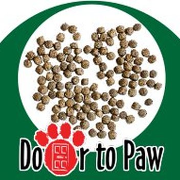 Free Door to Paw dog food samples